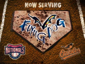 Flying Dog beers go with baseball