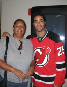 Johnny Oduya, one of my hockey future ex-husbands, now with the Winnipeg Jets