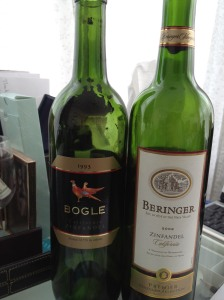 Bogle and Beringer together again for the first time