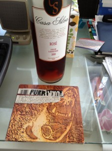 "Casa Silva rose with Blitzen Trapper's ""Furr"""