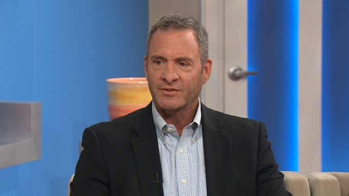 Clint Malarchuk on Canadian television talking about his book.